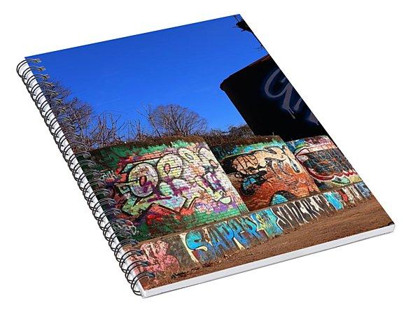 Good Vibes Asheville North Carolina Spiral Notebook