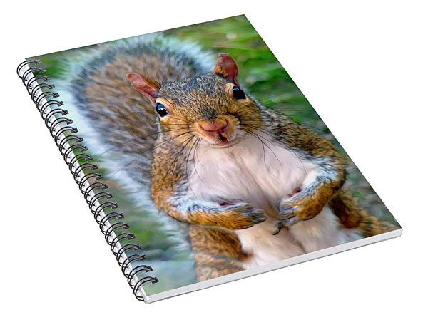 Got Any Peanuts Spiral Notebook
