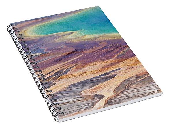 Grand Prismatic Spring 2 Spiral Notebook