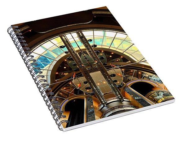 Grandeur Of The Seas Gold Centrum Spiral Notebook