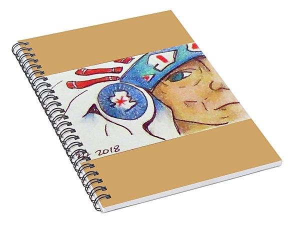 Grandpa Chief Spiral Notebook