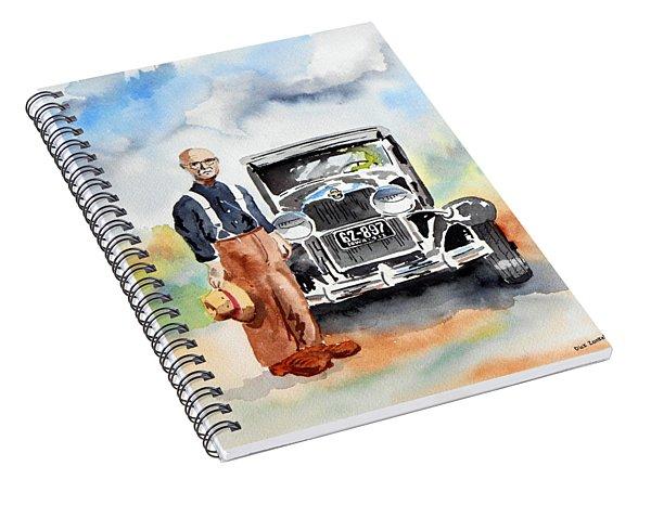 Grandpa's Chevy Spiral Notebook
