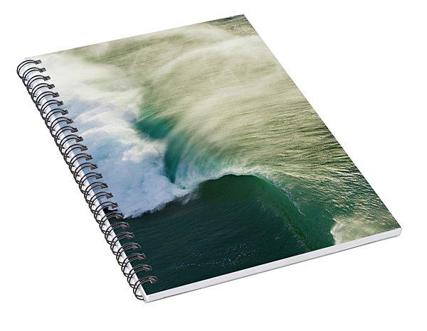 Green Envelope Spiral Notebook