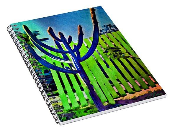 Green Fence Spiral Notebook