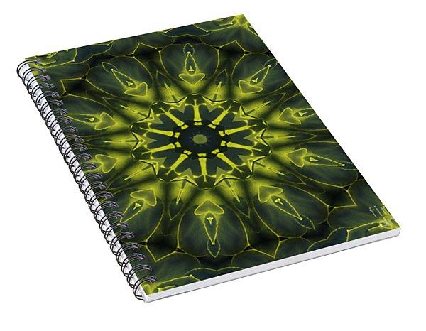 Succulent Mandala Spiral Notebook