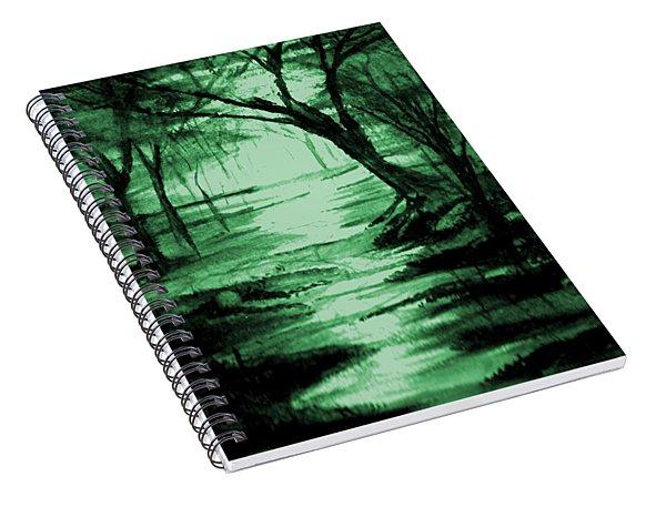 Green Mist Spiral Notebook
