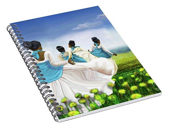 Green Pastures Spiral Notebook