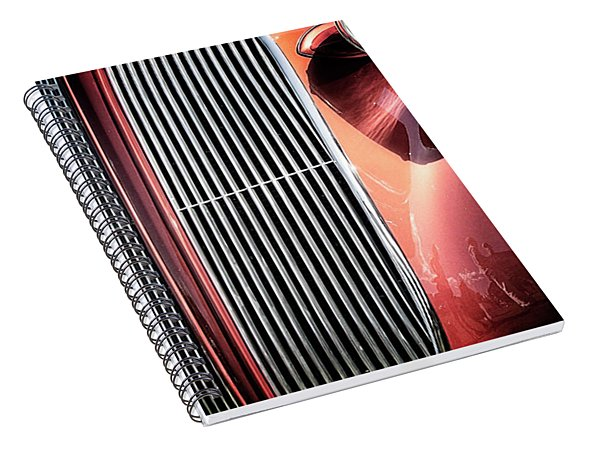 Spiral Notebook featuring the photograph Willys Grill by Scott Kemper
