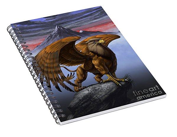 Gryphon Spiral Notebook