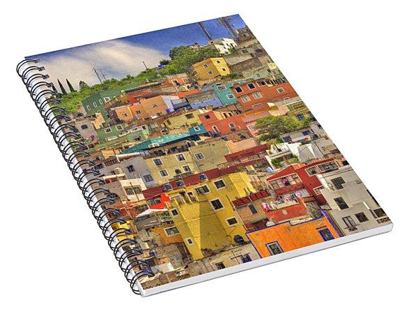 Guanajuato Hillside Spiral Notebook