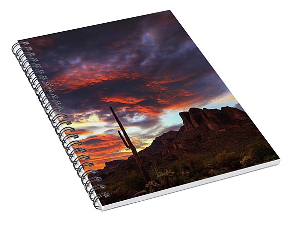 Guardians Of The Mountain Spiral Notebook