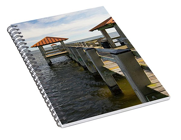 Gulf Coast Pier Spiral Notebook