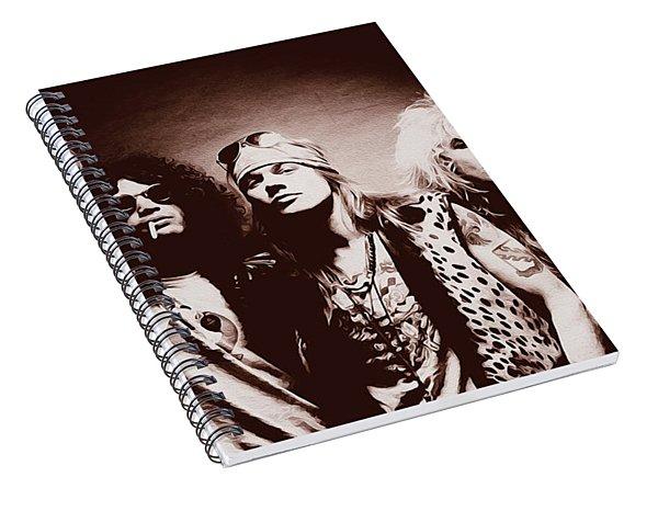 Guns N' Roses - Band Portrait 02 Spiral Notebook