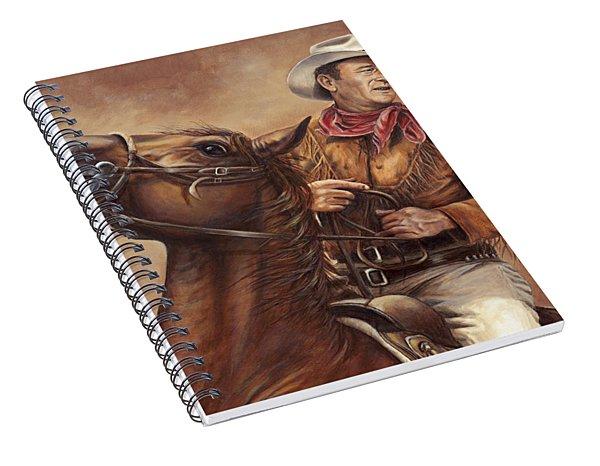 Guts And A Horse Spiral Notebook