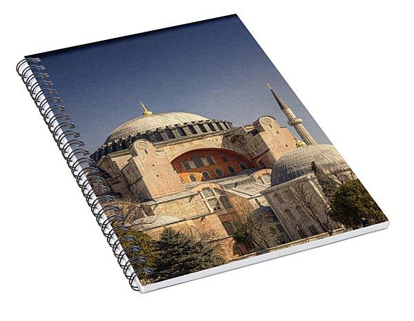 Hagia Sophia Spiral Notebook