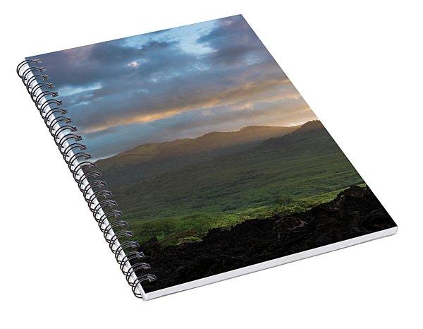 Haleakala Sunrise - Maui Spiral Notebook