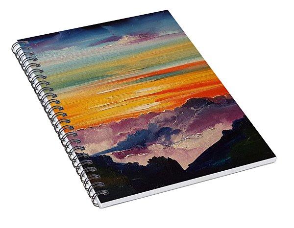 Haleakala Volcano Sunrise In Maui      101 Spiral Notebook
