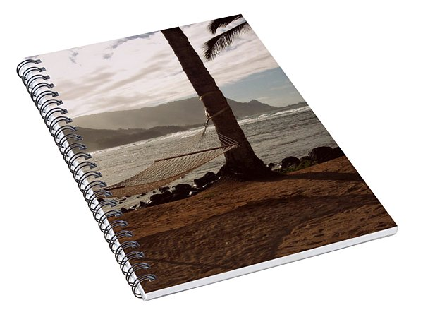 Hammock Shadow Spiral Notebook
