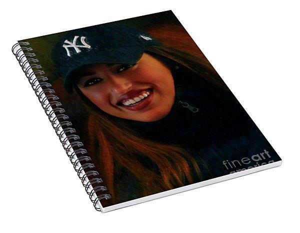 Happy New Yorker Spiral Notebook
