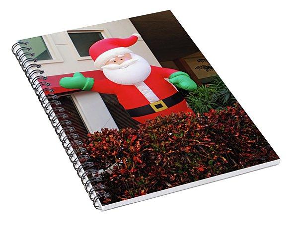 Happy Santa Spiral Notebook