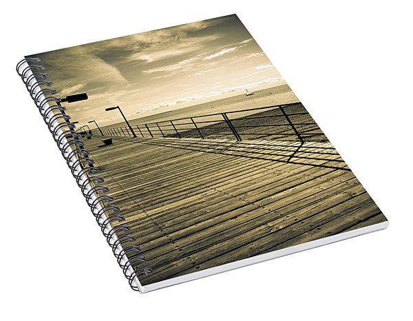 Harbor Beach Michigan Boardwalk Spiral Notebook