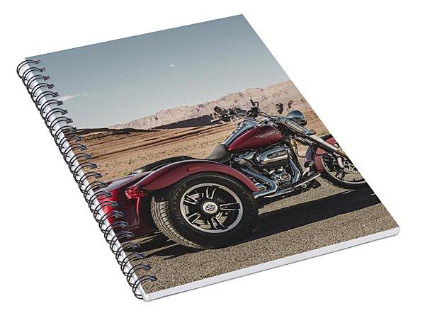 Harley-davidson Freewheeler Spiral Notebook