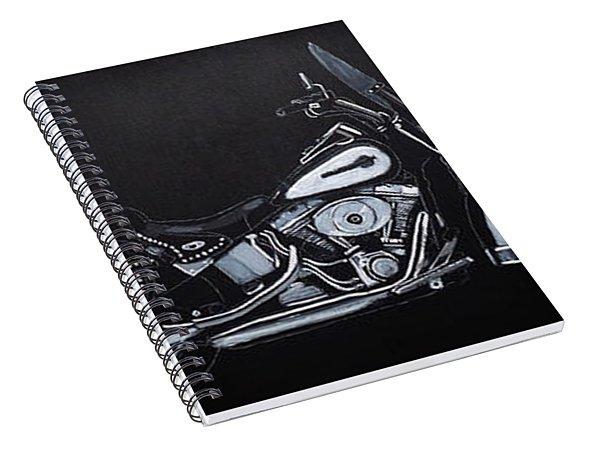 Harley Davidson Snap-on Spiral Notebook