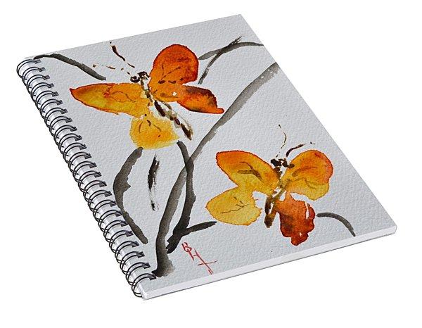 Harmonious Flight Spiral Notebook