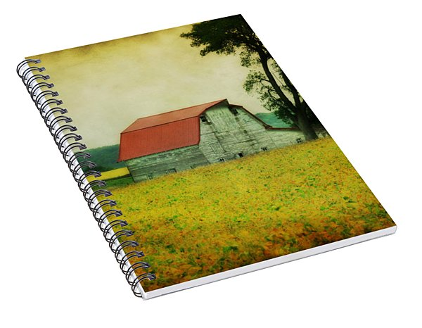 Harvest Is Near Spiral Notebook