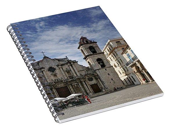 Havana Cathedral. Cuba Spiral Notebook