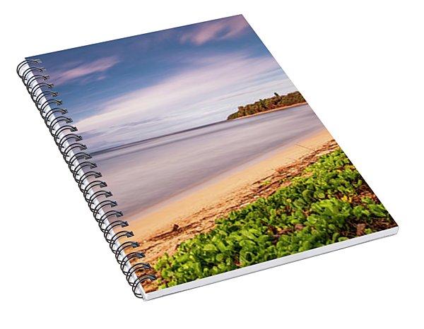 Hawaii Pakala Beach Kauai Spiral Notebook