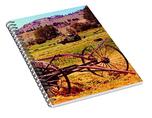 Golden Harvest Spiral Notebook