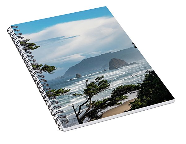 Haystack Views Spiral Notebook