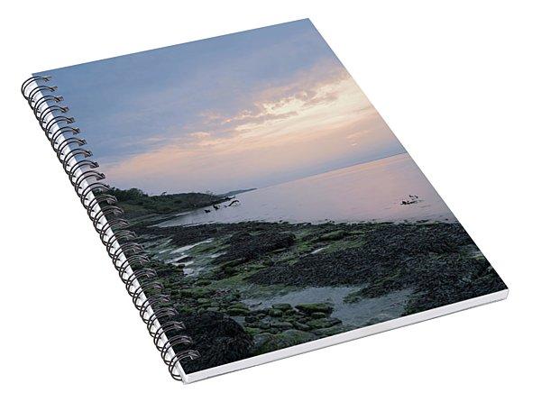 Hazy Sunset Spiral Notebook