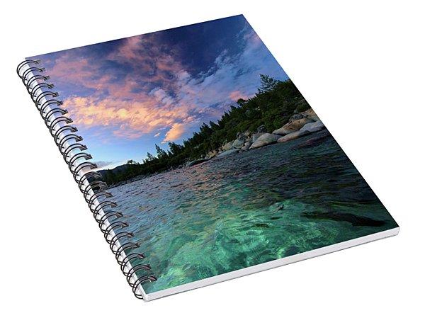Healing Waters Spiral Notebook