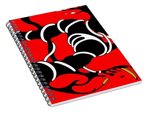 Heartstrings Spiral Notebook