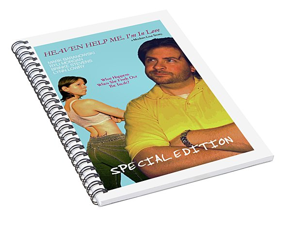 Heaven Help Me, I'm In Love Poster B Spiral Notebook