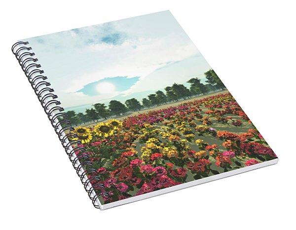Heavens Eye Spiral Notebook