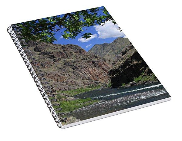 Hells Canyon Snake River Spiral Notebook
