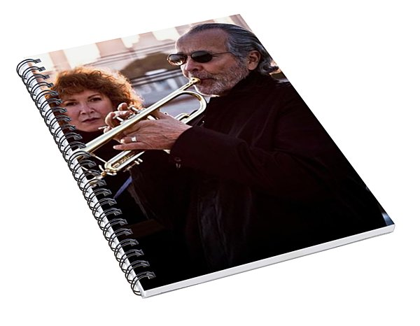 Herb Alpert Spiral Notebook