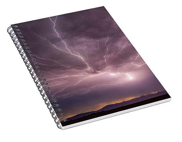 Here's A Shocker Spiral Notebook