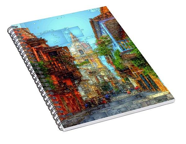 Heroic City, Cartagena De Indias Colombia Spiral Notebook