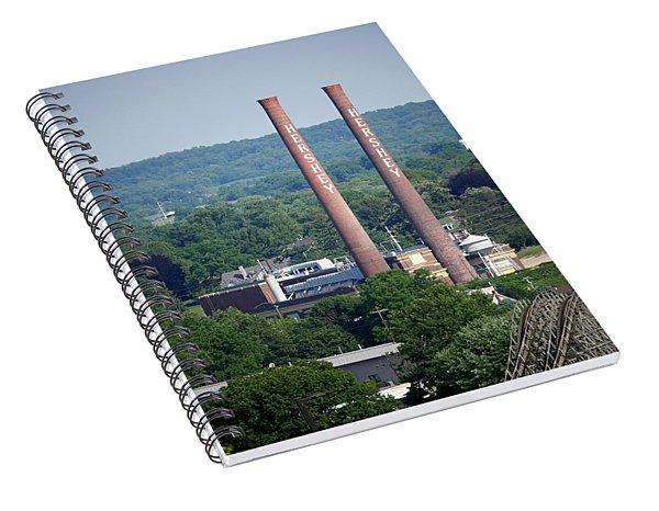 Hershey Smokestacks Spiral Notebook