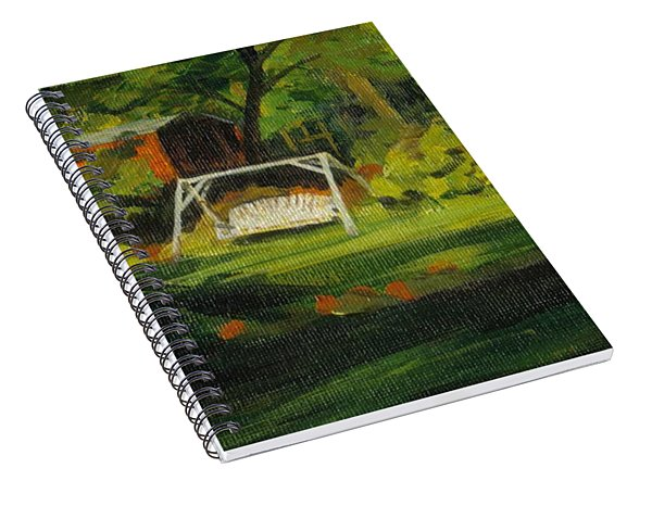 Hiedi's Swing Spiral Notebook