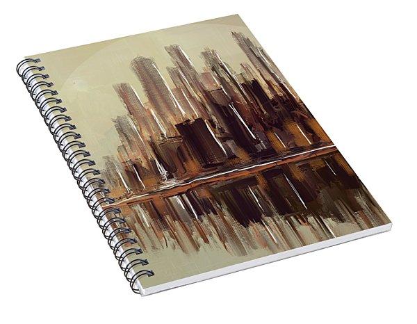 High Risers Island Spiral Notebook