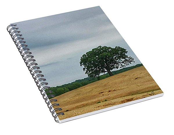 Hillside Tree 1 Spiral Notebook