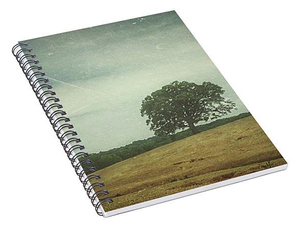 Hillside Tree 3 Spiral Notebook