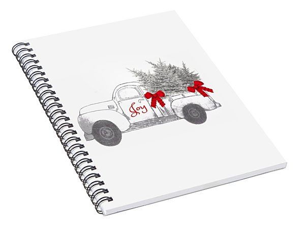 Holiday Joy Chesilhurst Farm Spiral Notebook