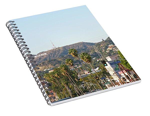 Hollywood Sign Above Sunset Blvd. Spiral Notebook
