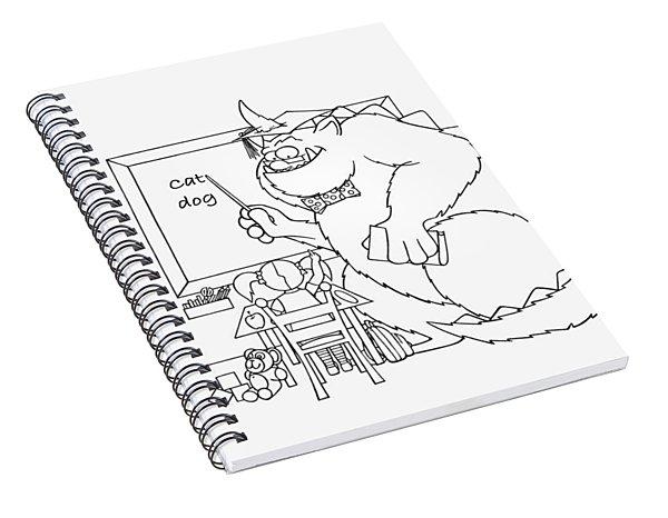 Home Work Spiral Notebook